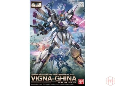 Bandai - RE/100 Vigina-Ghina, Mastelis: 1/100, 25768