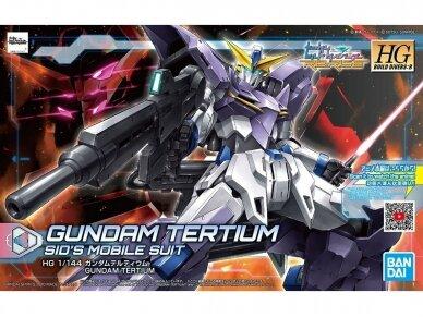 Bandai - HGBD:R Gundam Tertium, 1/144, 58918