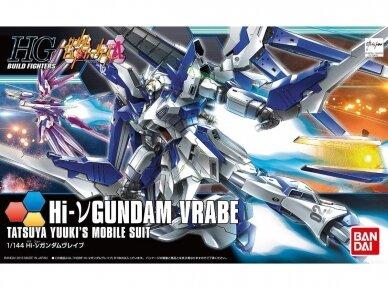 Bandai - HG Build Fighters Try Hi-v Gundam Vrabe, 1/144, 55438