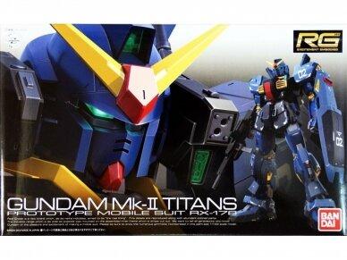 Bandai - RG Gundam Mk-II Titans, Mastelis:1/144, 75716
