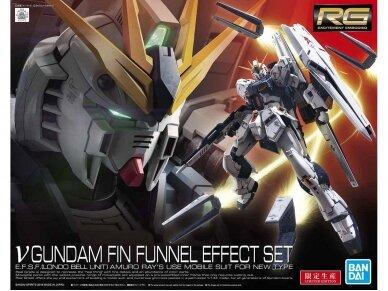 Bandai - RG v Gundam Fin Funnel Effect Set, Scale: 1/144, 59000