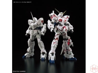 Bandai - RG Unicorn Gundam, Scale: 1/144, 16741 13