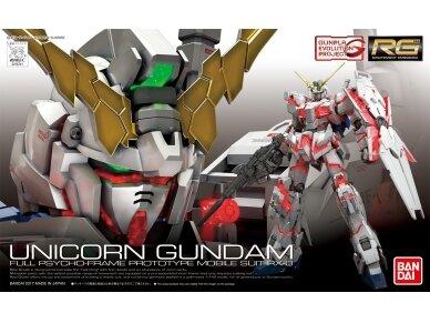 Bandai - RG Unicorn Gundam, Mastelis: 1/144, 16741