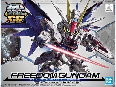 Bandai - SD Gundam Cross Silhouette Freedom Gundam, 56752