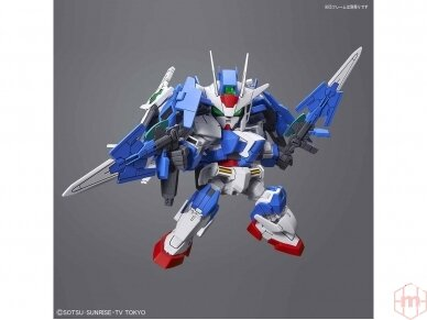 Bandai - SD Gundam Cross Silhouette Gundam 00 Diver Ace, 55343 8