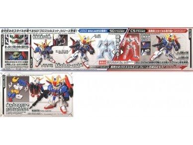 Bandai - SD Gundam Cross Silhouette Zeta Gundam, 30366 5