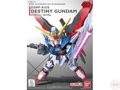 Bandai - SD Gundam EX Standard Destiny Gundam, 07854