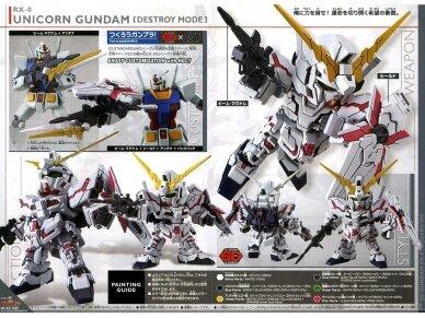 Bandai - SD Gundam EX Standard Unicorn Gundam, 04433 5
