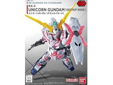 Bandai - SD Gundam EX Standard Unicorn Gundam, 04433