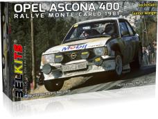 Belkits - Opel Ascona 400 Rally Monte Carlo 1981, 1/24, BEL019