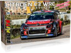 Belkits - Citroën C3 WRC Tour de Corse 2018, 1/24, BEL017