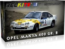 "Belkits - Opel Manta 400 [GG-CT 361] ""MOBIL"", 1/24, BEL008"