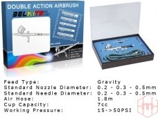 BelKits - Gravity Feed - Double Action aerografas BEL-AIR004