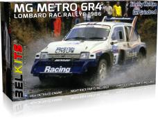 Belkits - MG Metro 6R4 1986 McRae Jimmy RAC, Mastelis: 1/24, BEL016
