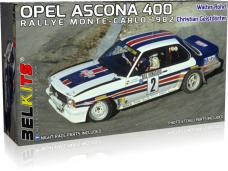 Belkits - Opel Ascona 400 Rally Monte Carlo 1982, 1/24, BEL020