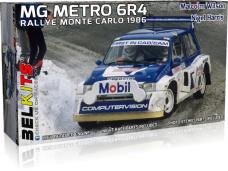 Belkits - MG Metro 6R4 1986 M.Wilson Monte Carlo, 1/24, BEL015