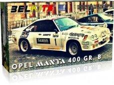 Belkits - Opel Manta 400 Gr. B Jimmy McRae 1984, Scale:1/24, BEL009