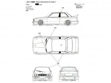 Beemax - 1992 BMW M3 E30, Mastelis: 1/24, B24019, 10630 8