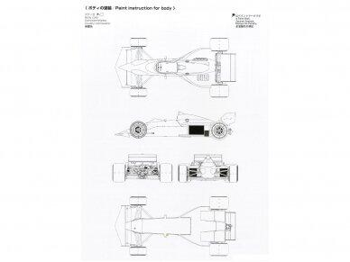 Beemax - Brabham BT52 1983 Monaco GP, Mastelis: 1/20, B20003 11