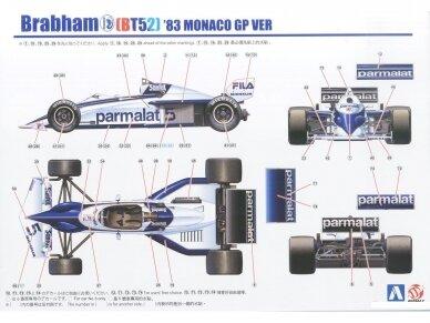 Beemax - Brabham BT52 1983 Monaco GP, Mastelis: 1/20, B20003 9
