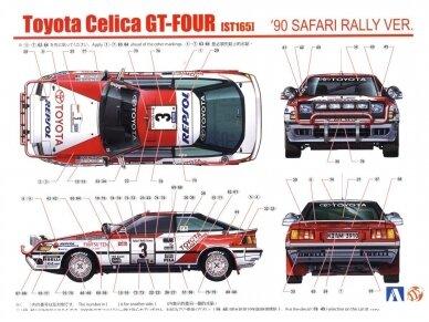 Beemax - Toyota Celica St165 Safari - 1990, Scale: 1/24, B24006, 09788 9