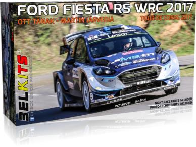 Belkits - Ford Fiesta RS WRC 2017 Tour de Corse 2017, Scale: 1/24, BEL013