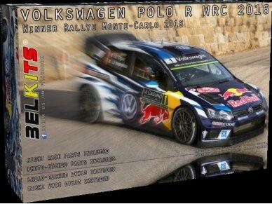 Belkits - Volkswagen Polo WRC 2016 Ogier - Latvala, Scale:1/24, BEL011