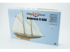 Billing Boats - Bluenose II - Wooden hull, Scale: 1/100, BB600
