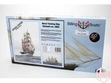 Billing Boats - Danmark Special Edition - Wooden hull, Scale: 1/100, BB5005