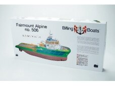Billing Boats - Fairmount Alpine - Wooden hull, Scale: 1/75, BB506