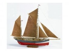 Billing Boats - FD 10 Yawl - Wooden hull, Scale: 1/50, BB701