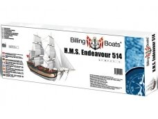 Billing Boats - HMS Endeavour - Wooden hull, Scale: 1/50, BB514