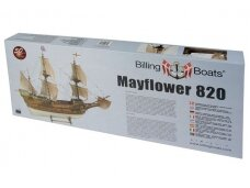 Billing Boats - Mayflower - Medinis korpusas, Mastelis: 1/60, BB820