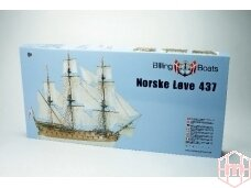 Billing Boats - Norske Love - Wooden hull, Scale: 1/75, BB437