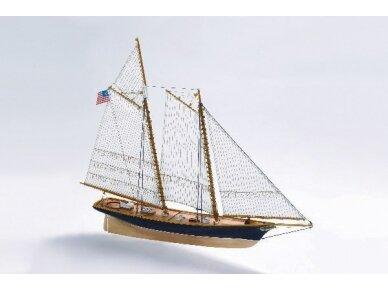 Billing Boats - America - Medinis korpusas, Mastelis: 1/72, BB609