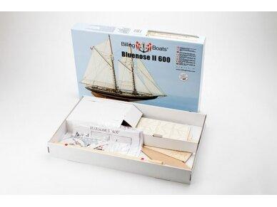 Billing Boats - Bluenose II - Medinis korpusas, Mastelis: 1/100, BB600 2