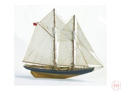 Billing Boats - Bluenose - Medinis korpusas, Mastelis: 1/65, BB576 2