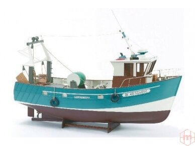 Billing Boats - Boulogne Etaples - Medinis korpusas, Mastelis: 1/20, BB534