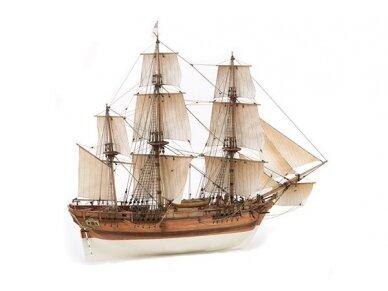 Billing Boats - HMS Bounty - Medinis korpusas, Mastelis: 1/50, BB492