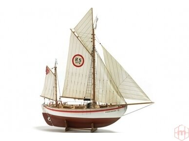 Billing Boats - Colin Archer RC - Medinis korpusas, Mastelis: 1/15, BB728