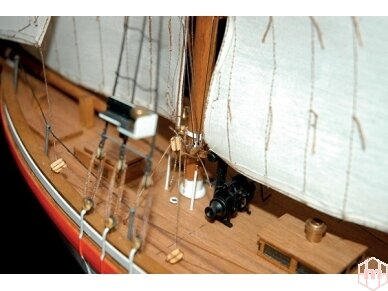 Billing Boats - Colin Archer - Medinis korpusas, Mastelis: 1/40, BB606 2