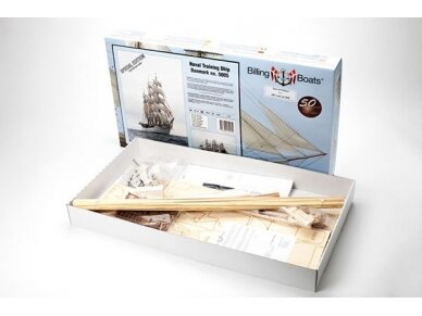 Billing Boats - Danmark Special Edition - Wooden hull, Scale: 1/100, BB5005 2