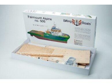 Billing Boats - Fairmount Alpine - Medinis korpusas, Mastelis: 1/75, BB506 2