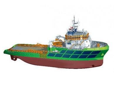 Billing Boats - Fairmount Alpine - Medinis korpusas, Mastelis: 1/75, BB506 3
