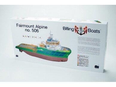 Billing Boats - Fairmount Alpine - Medinis korpusas, Mastelis: 1/75, BB506