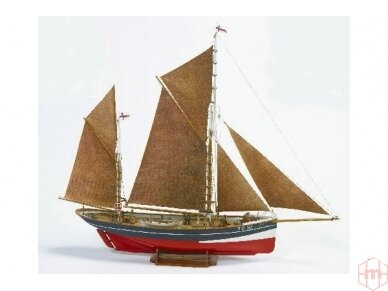 Billing Boats - FD 10 Yawl - Medinis korpusas, Mastelis: 1/50, BB701