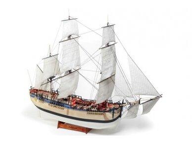 Billing Boats - HMS Endeavour - Medinis korpusas, Mastelis: 1/50, BB514 2