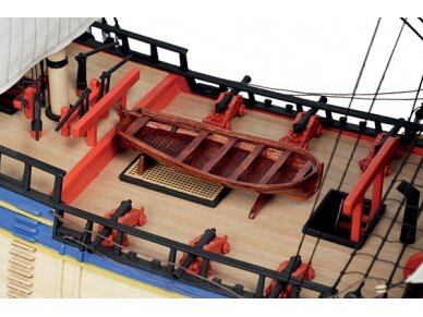 Billing Boats - HMS Endeavour - Wooden hull, 1/50, BB514 3