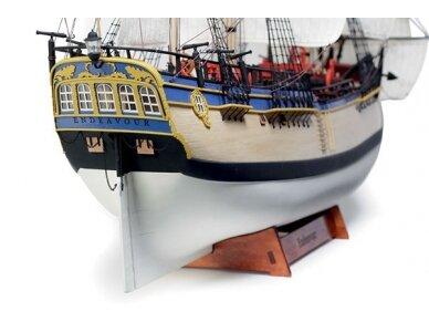 Billing Boats - HMS Endeavour - Medinis korpusas, Mastelis: 1/50, BB514 4