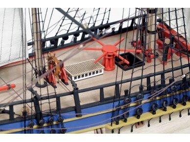 Billing Boats - HMS Endeavour - Medinis korpusas, 1/50, BB514 5